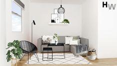 Final Visualisation. Room Design Package: Classic, Room: Spare Bedroom, Style: Scandi, Budget: £3000 Designer: Charlie T