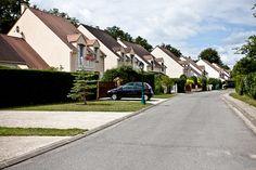 Zone pavillonnaire - Sucy-en-Brie (94 - Val de Marne)