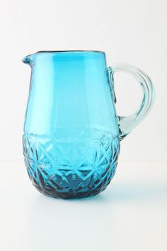 This reminds me of my sister's pitcher from depression era glass.