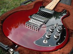 The Peavey T-60 electric guitar.  Innovative in that Hartley Peavey introduced CNC machining to the guitar industry, and changed the way guitars are mass-produced.  These Peavey instruments were not the most beautiful, and from my experience, weighed a ton.  But, they always played great and sounded really good.