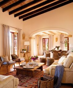 Mix and Chic | breathtaking living room in Mallorca!