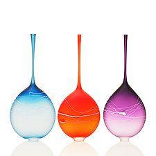 Art Glass Bottle by David Royce