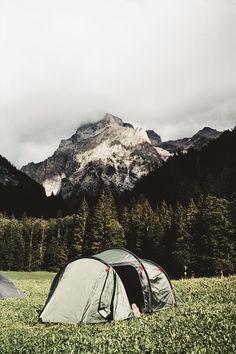 Faire du camping dans un endroit où vous n'aviez jamais été / Camping in a place you've never been before