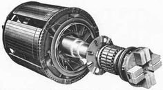 Rotor of a synchronous motor