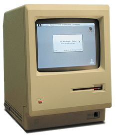 "The original Macintosh: I was a proud owner of one of the first Macs (via the Apple University Consortium), decades before the term ""Apple fanboy"" was invented!"
