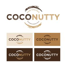 Logo design for a manufacturer of raw, organic plant based brownies, energy balls and other confectionery.
