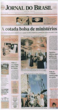 Capa JORNAL DO BRASIL