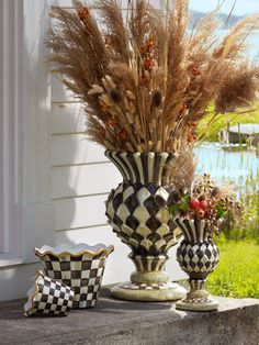 Our planters and vases are beautiful all throughout the year...