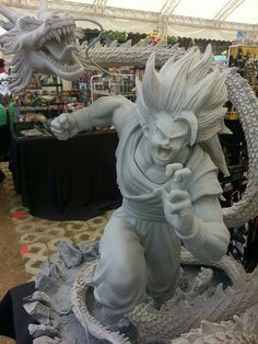 Superman vs Goku Statue 1/4 - Visit now for 3D Dragon Ball Z shirts now on sale! http://amzn.to/2q10MiJ