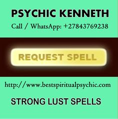 Real Genuine Psychic - Powerful Spells Working Instantly http://www.bestspiritualpsychic.com