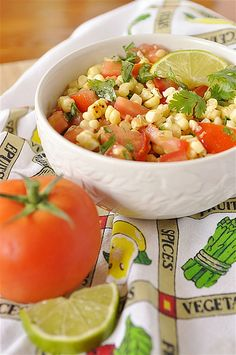 Roasted Corn Summer Salad - your homebased mom