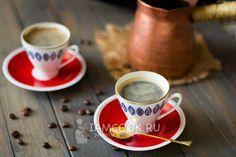 кофе по-турецки в турке/Turkish coffee