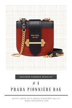 Designer Handbag Wishlist #4 - Prada Pionnière Bag