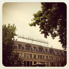 my favorite department store in paris on the left bank; le bon marché. (paris)