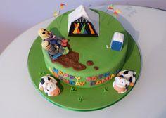 Glastonbury Birthday Cake by Cakes by Lynz, via Flickr Birthday Party Themes, Birthday Cake, Cooking Recipes, Desserts, 21st, Wedding, Cakes, Food, Mariage