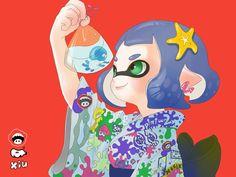 Splatoon-Cute Inkling Girl