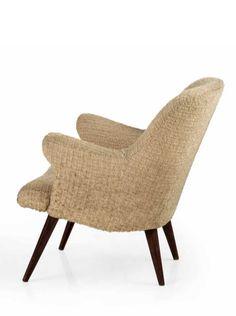 Osvaldo Borsani; Lounge Chair, 1950s.