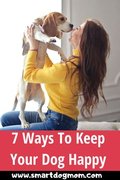 Do you know how to make your dog happier in the short time? There are mentioned 7 easy effective tips to keep your dog or puppy always happy when depressed. A dog helps to make our beautiful moments even more wonderful and to keep happy. Dog Training Methods, Basic Dog Training, Dog Training Techniques, Big Dogs, I Love Dogs, Dogs And Puppies, Dog Potty, Dog Games
