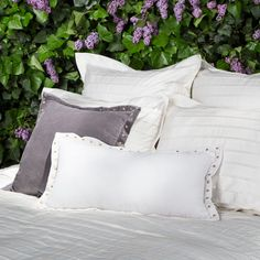 The Cortland Off-White Duvet Cover Set | Crane & Canopy