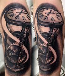 Resultado de imagem para tatuagem tempo
