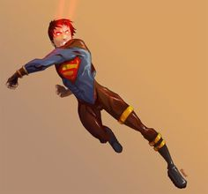 Another phenomenal DC Comic character is Superboy, who is presented on various comics as the youthful incarnations of Superman and the main character of the ser Superhero Characters, Dc Comics Characters, Comic Character, Character Design, Superhero Design, Young Justice, Man Of Steel, Dc Heroes, Teen Titans