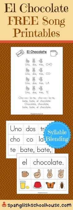 El Chocolate {Spanish Songs for Children}