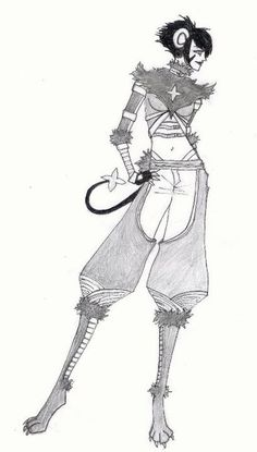 Luxray Gijinka Cosplay Concept by Needle-Sprite