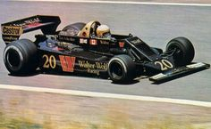 Jody Scheckter drove for Walter Wolf Racing in 1977 and 1978 winning the first ever Grand Prix that the team had competed in