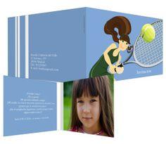 Tenis (con foto) - #invitación de #cumpleaños para niños