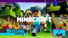 Live Stream Overlay Minecraft 2 — Drewsif Designs