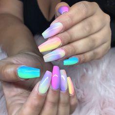 ❁ For More Nail Pins Like This Follow @Kebay