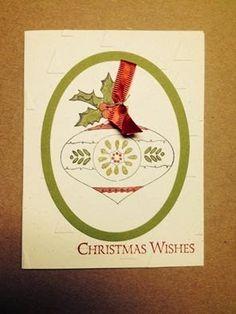 Stampin' Kat: Christmas card of the week