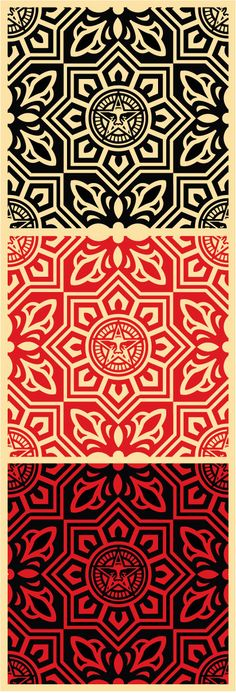 Venice pattern set