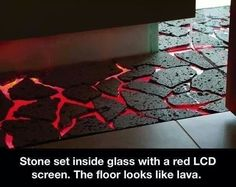 """Dream flooring. This would be awesome to play """"the floor is lava"""" on..."""