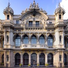 Barcelona Port Authority building  At the start of the Rambla de Mar stands the Old Port Authority building, an ornate structure built in 1907 as a maritime station. Today it houses the governing body responsible for managing the Port of Barcelona.