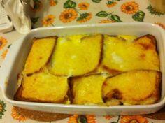 Tortino di pancarrè, ricetta piatti unici