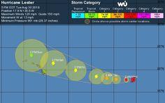 Hurricane Warning for Hawaii, a Watch for Florida; TD 9 Headed Towards NE U.S.?…