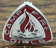Red and Silver Campfire Girls Troop Pin Campfire Girls, Etsy Vintage, Vintage Stuff, Camp Fire, Green Christmas, The Good Old Days, Girl Scouts, Blue Bird, Troops