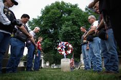 Annual Rolling Thunder Motorcycle Procession Honors Vets Before Memorial Day