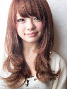 【エラ張り・ベース型さんに似合う髪型】ロングのヘアスタイル - curet [キュレット] まとめ