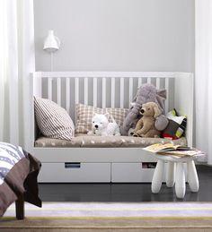 Stuva, la cuna con cajones de Ikea