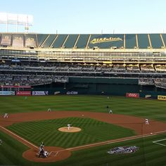 April 4, 2016 - Opening Day at Oakland Coliseum, the home of the Oakland Athletics.