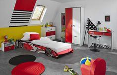 Armoire Enfant 3 Portes F1 Coloris Rouge P 5809 Co Formula Vente