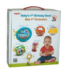 Little ones at the age of 1 love making noise so Halilit baby's first band is a fab gift!