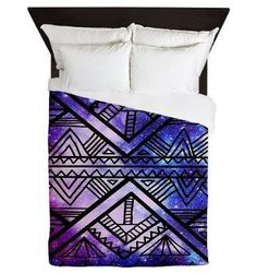 galaxy bedding, this would be one of the options for my bed set. I love the colors on it. mery modern