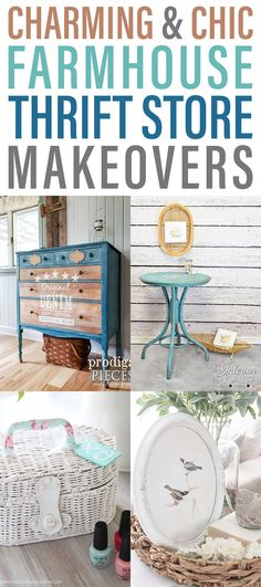 Charming and Chic Farmhouse Thrift Store Makeovers – The Cottage Market – Brilliant DIY Thrift Store Crafts You Should Totally Try Stained Dresser, Craft Projects, Projects To Try, Craft Ideas, Simply Learning, Thrift Store Crafts, Thrift Stores, Goodwill Finds, Farmhouse Decor