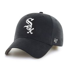 Chicago White Sox Mass Basic Home 47 Brand Adjustable Hat - Great Prices And Fast Shipping at Detroit Game Gear Baseball Store, Mlb Baseball Caps, White Sox Baseball, Kids Hats, Hats For Men, Stylish Caps, Cubs Hat, Classic Hats, New Orleans Saints