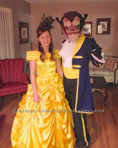 Adult Disney Belle Princess Beauty And the Beast Costume Prince Fancy Dress Up