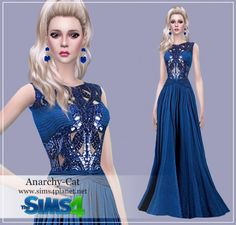 Anarchy-Cat: Dress 31 • Sims 4 Downloads