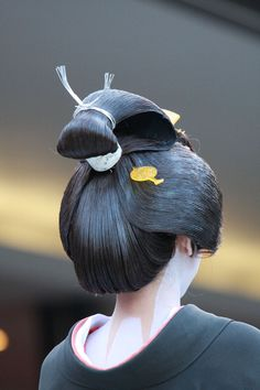 Traditional Japanese female's hairstyle